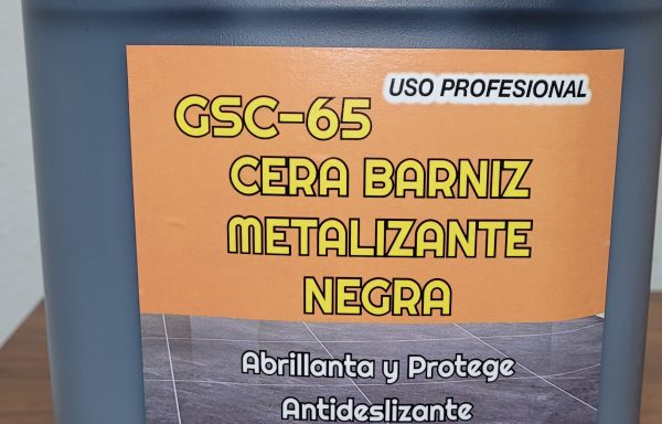 GSC-65 CERA BARNIZ METALIZANTE NEGRA
