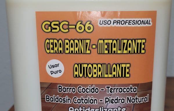 GSC-66 CERA BARNIZ-METALIZANTE AUTOBRILLANTE 5L.
